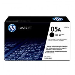 HP CE505 BLACK TONER...