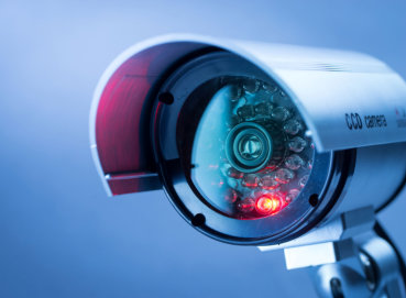 Graphical image of a Bullet Camera and CCTV Cameras Installation